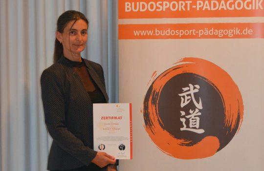Pädagogin für Budosport