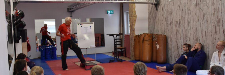 Budosport-Pädagogen auf dem Kampfkunstseminar in Worms